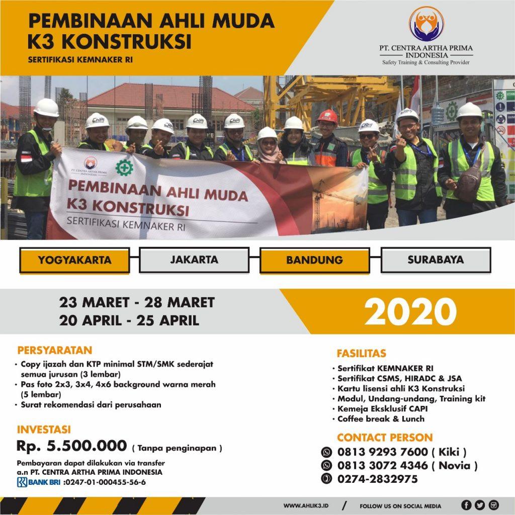 pembinaan ahli muda k3 konstruksi