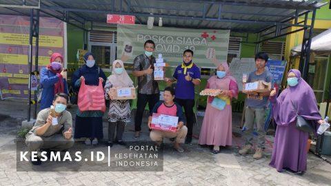 Persakmi Enrekang Salurkan Bantuan Suplemen ke Posko Induk Kesehatan di Kabupaten Enrekang