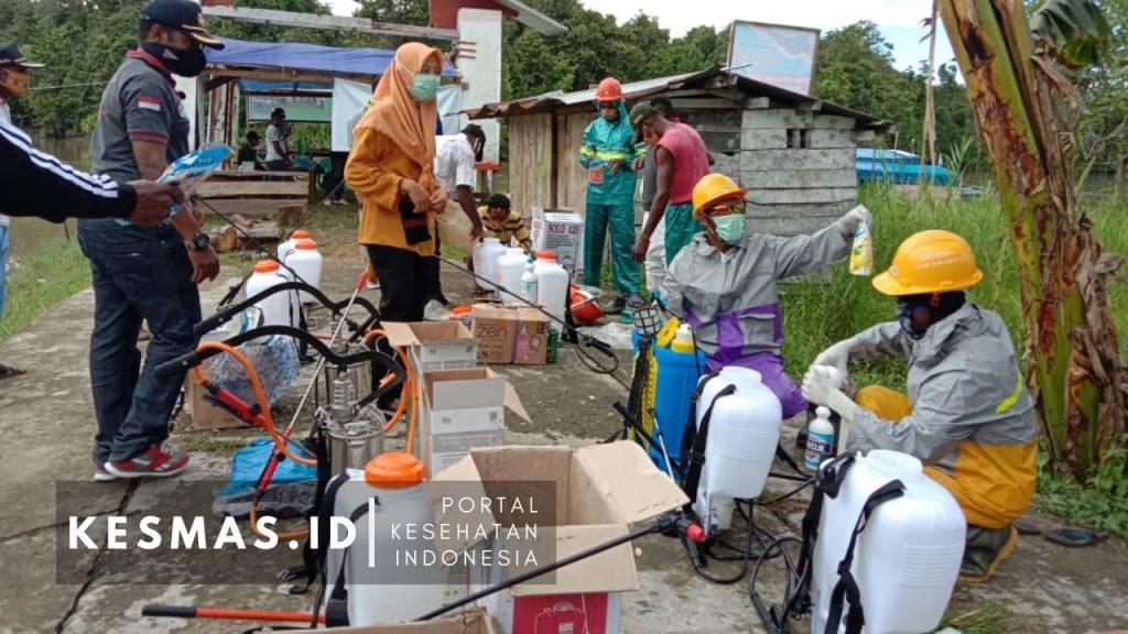 Tim Relawan Distrik Kamundan