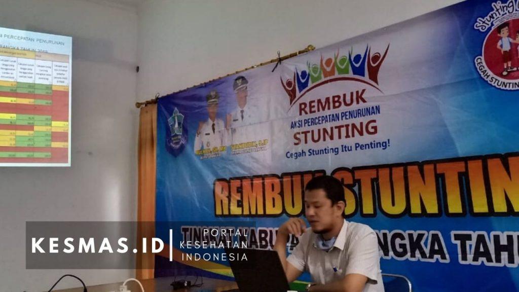 Rembug Stunting Kabupaten Bangka 2020