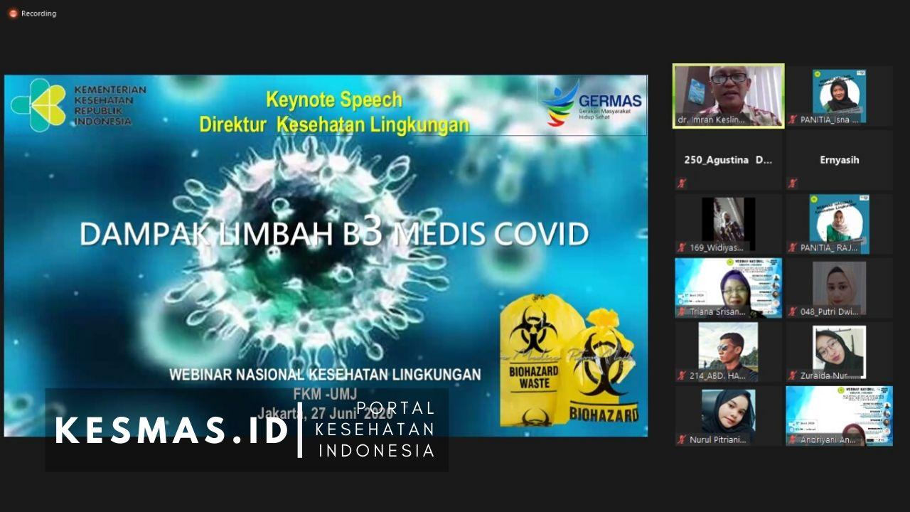 Kesiapsiagaan Menghadapi Dampak Limbah B3 Medis COVID-19 Terhadap Lingkungan di Indonesia