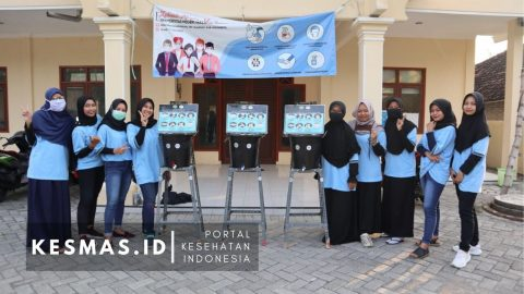 Kreasi Tempat Cuci Tangan Kreatif & Edukatif Mahasiswa KKN Universitas Negeri Malang