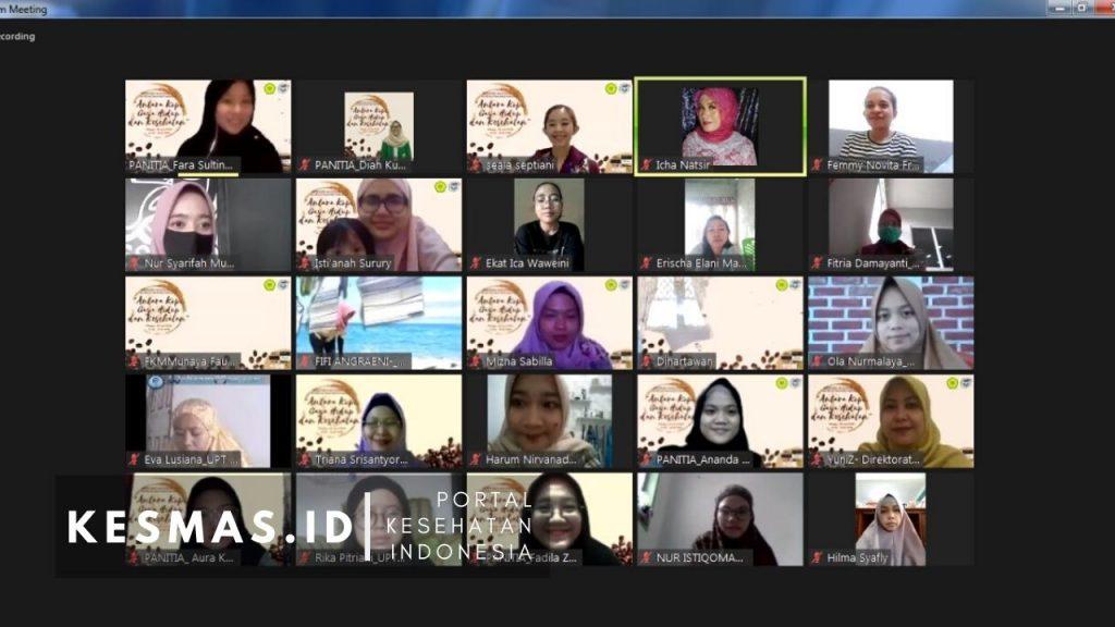 Peserta Webinar Gizi Kesehatan Masyarakat 2020 FKM UMJ
