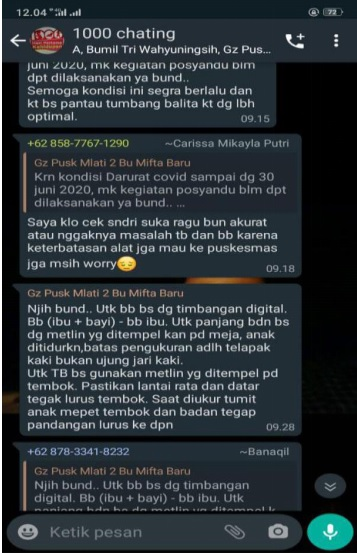 WAG 1000 Chatting