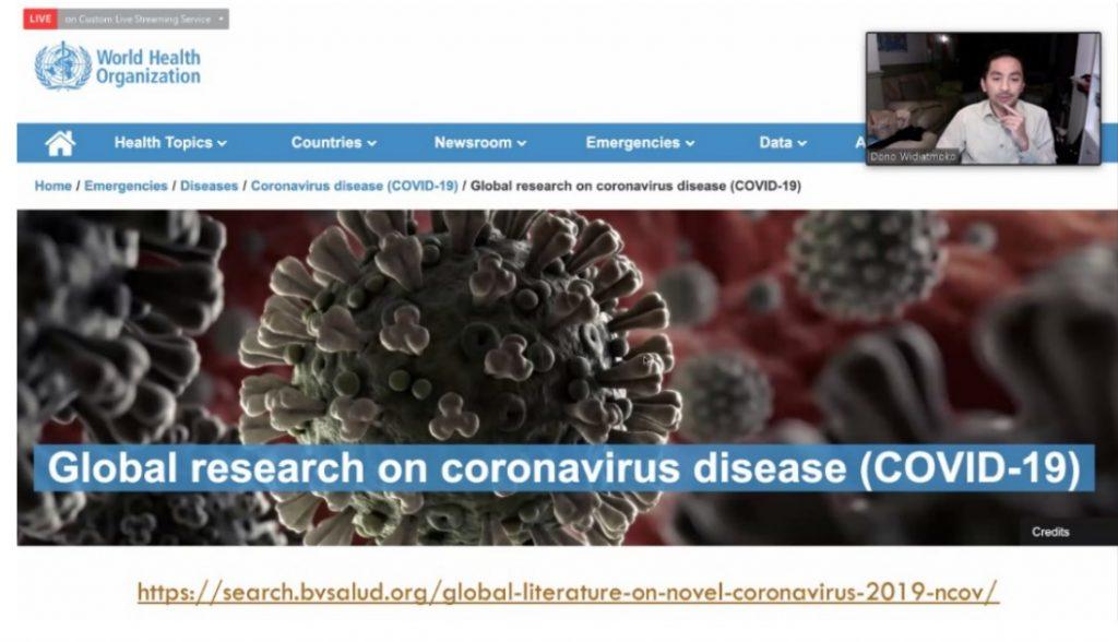Global Research on Covid 19, Dono Widiatmoko