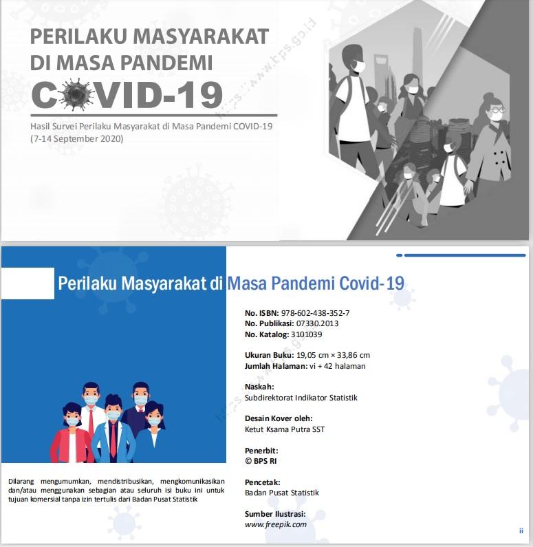 Perilaku Masyarakat Di Masa Pandemi Covid-19 - cover