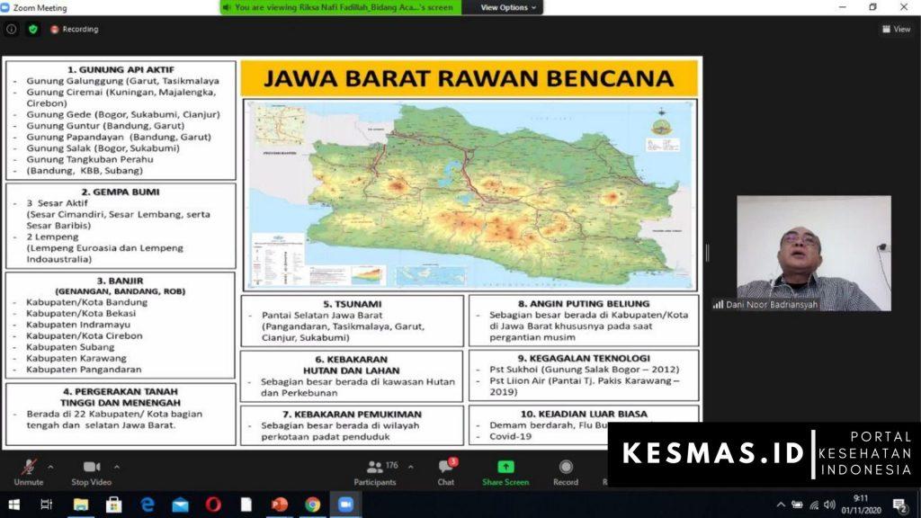 Materi Kepala Bidang Pencegahan dan Kesiapsiagaan BPBD Provinsi Jawa Barat