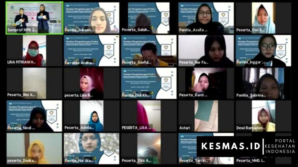 Peserta Webinar MPK Prodi Kesmas UIN Syarif Hidayatullah Jakarta