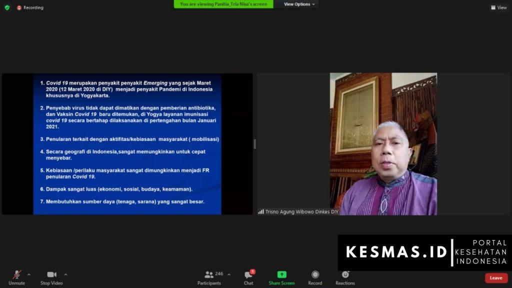 Kepala Bidang Sumber Daya Kesehatan Dinas Kesehatan Provinsi Daerah Istimewa Yogyakarta