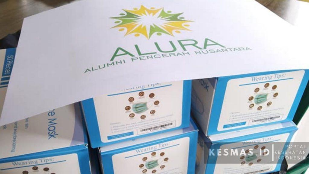 Alumni Pencerah Nusantara Bantu 400 pcs Maskes Untuk Puskesmas