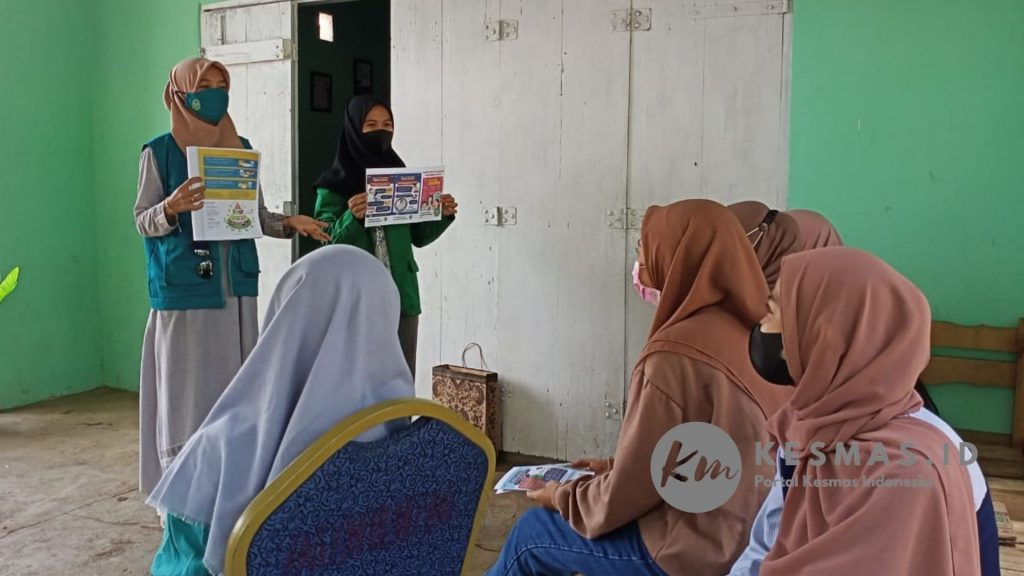 Kegiatan Edukasi Gizi Pengabdian Masyarakat Prodi Gizi Universitas Mega Rezky Makassar