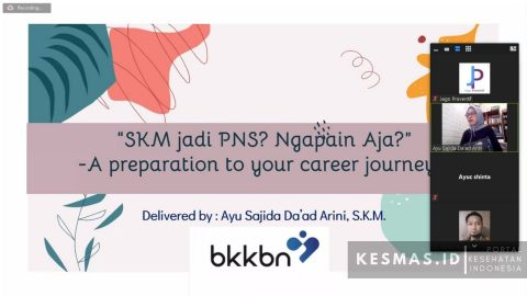 Masterclass Perdana Jago Preventif, Membedah Karir S.K.M Sebagai PNS