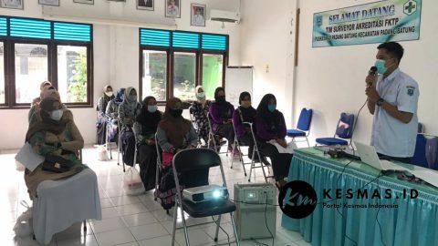 Orientasi Kader Dasawisma ber-PHBS Puskesmas Padang Batung
