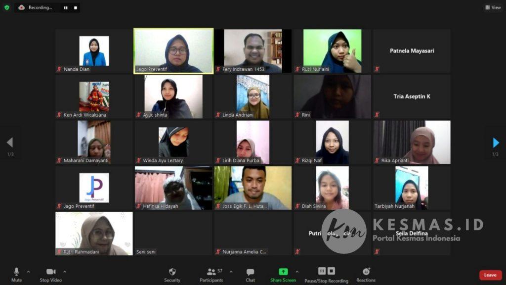 Peserta Workshop Persiapan Seleksi CPNS 2021 Jago Preventif