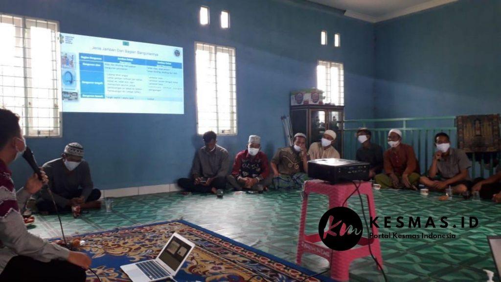 Program Sanitasi Perdesaan Padat Karya Kabupaten Banjar di Desa Tanah Intan