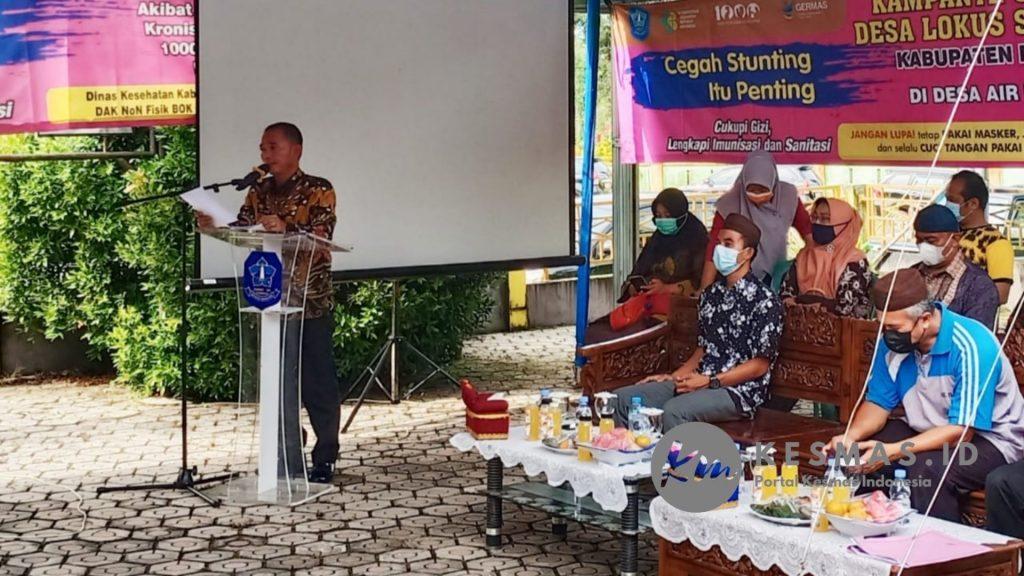 Sekretaris Dinas Kesehatan Kabupaten Bangka