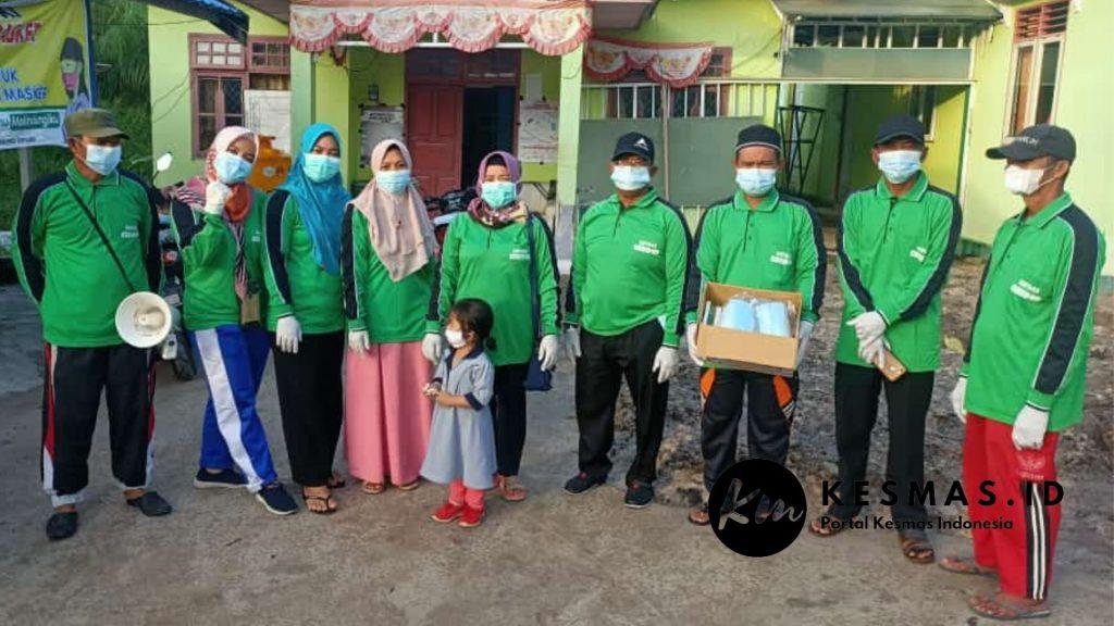 Tim Satgas & Relawan Desa Siaga Covid Sei Ijum Raya