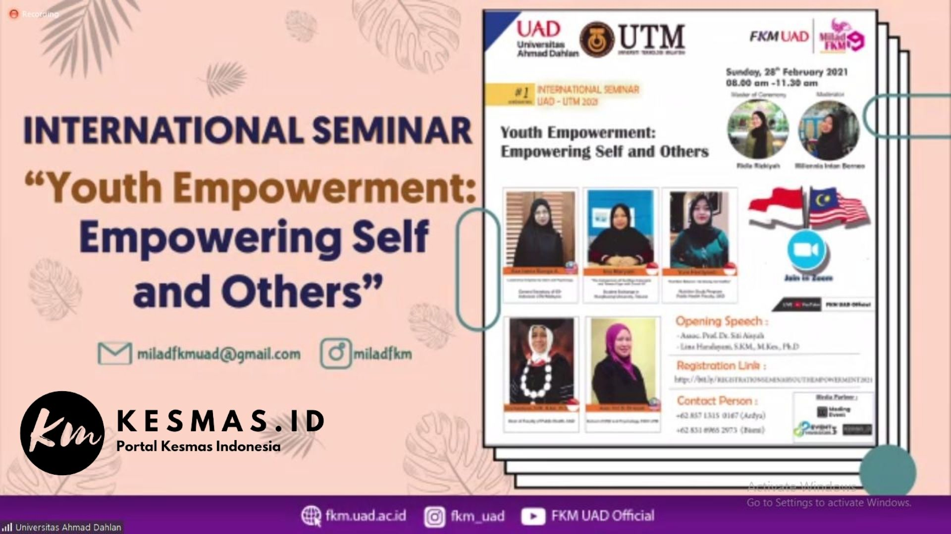 Youth Empowerment Empowering Self and Other