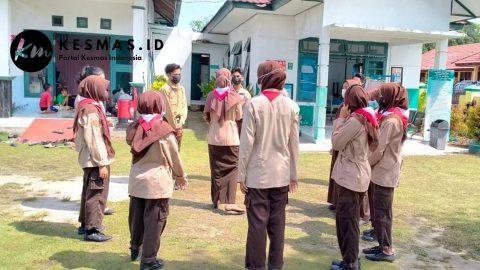 Pembinaan Gerakan Pramuka Saka Bakti Husada SMKN 1 Kumai