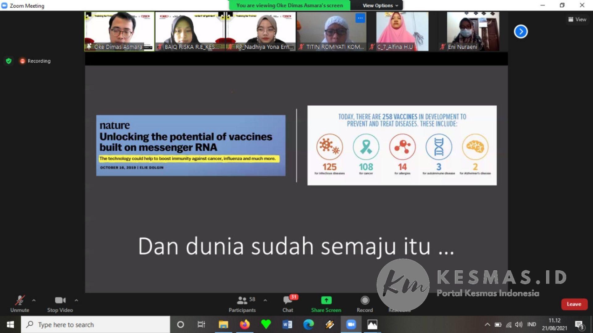 mRNA Vaksin
