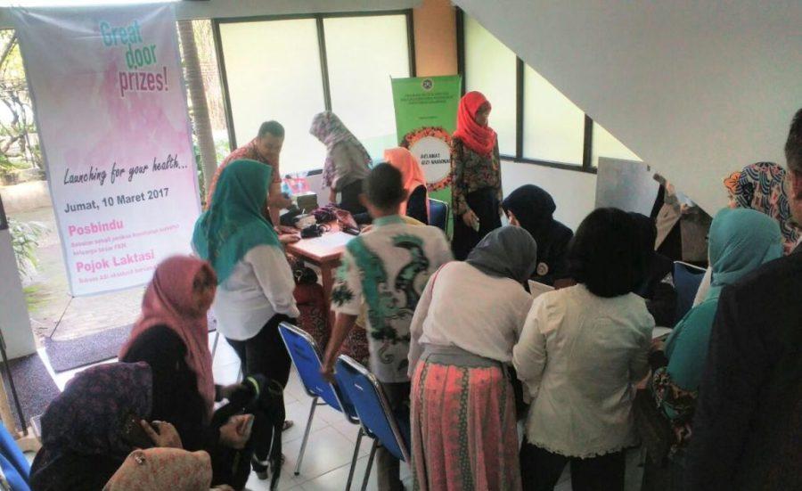Peduli Kesehatan, FKM Unair Luncurkan Pos Pembinaan Kesehatan Terpadu