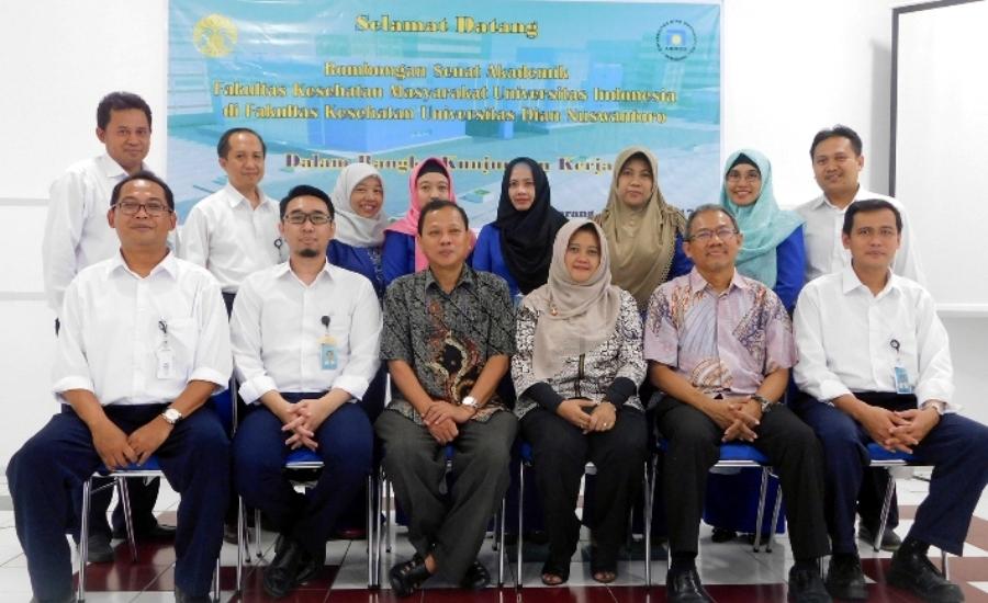 Senat Akademi FKM UI Kunjungi Fakultas Kesehatan UDINUS