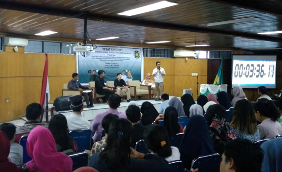 Debat Kandidat Cagub-Cawagub Fakultas Kesehatan Masyarakat USU