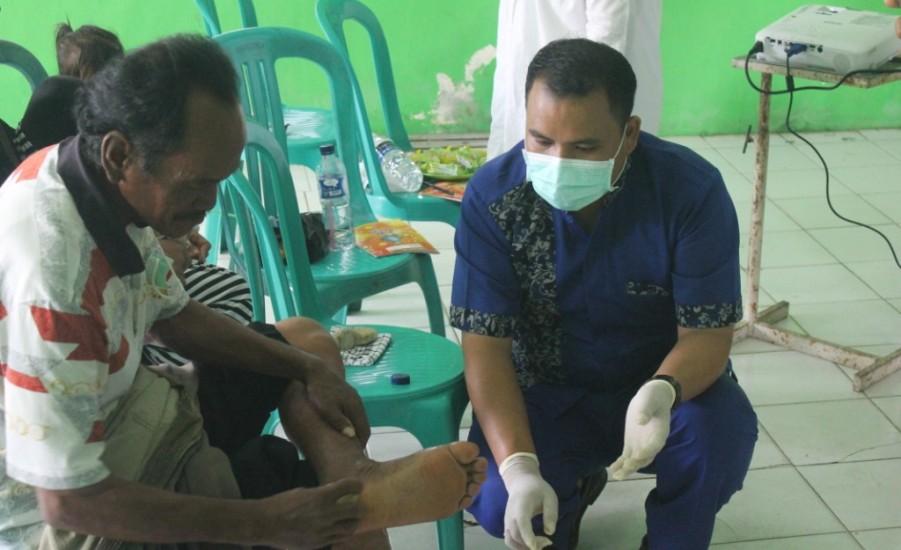 Tim Nusantara Sehat Sungai Guntung, Ubah Stigma Negatif Penderita Kusta
