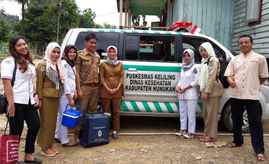 Puskesmas Sanur Lakukan Pelayanan Kesehatan Masyarakat yang Tinggal di Perbatasan