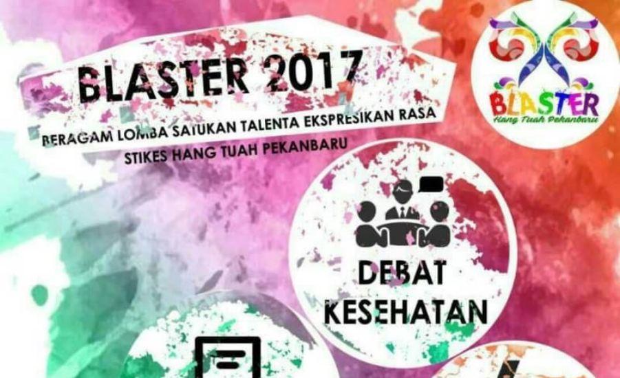 Peringati HUT ISMKMI, Hima IKM STIKes Hang Tuah Pekanbaru Gelar BLASTER 2017