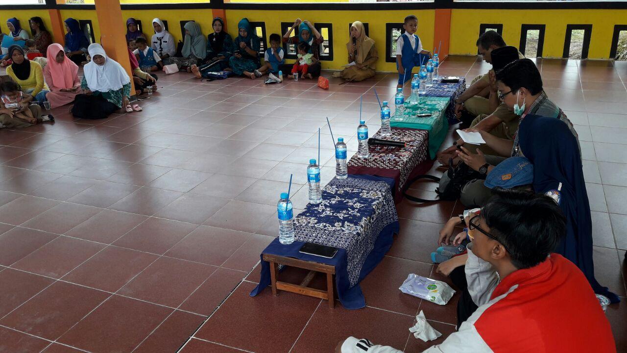 Puskesmas Pelangiran Lakukan Penyuluhan TBC di Desa Wonosari