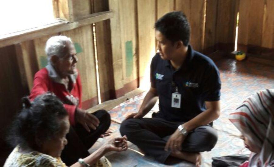 Wujudkan Desa Sehat, Puskesmas Sanur Kunjungi Rumah Warga Layani Pasien PTM