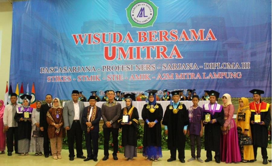 Prodi Kesmas STIKes Umitra Lampung Gelar Wisuda ke-15