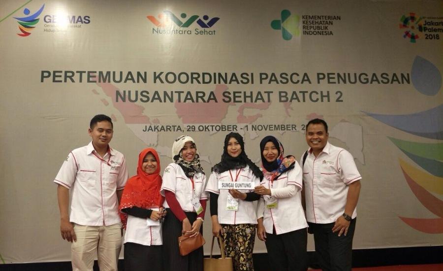 Untuk Nusantara Sehat Batch 2 Sungai Guntung yang Hebat dan Menebar Manfaat