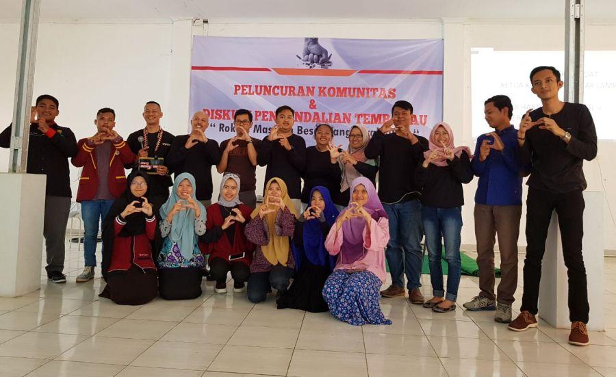 Keren! Sekumpulan Anak Muda Ini Luncurkan Komunitas Generasi Tanpa Rokok (GETAR) Lampung