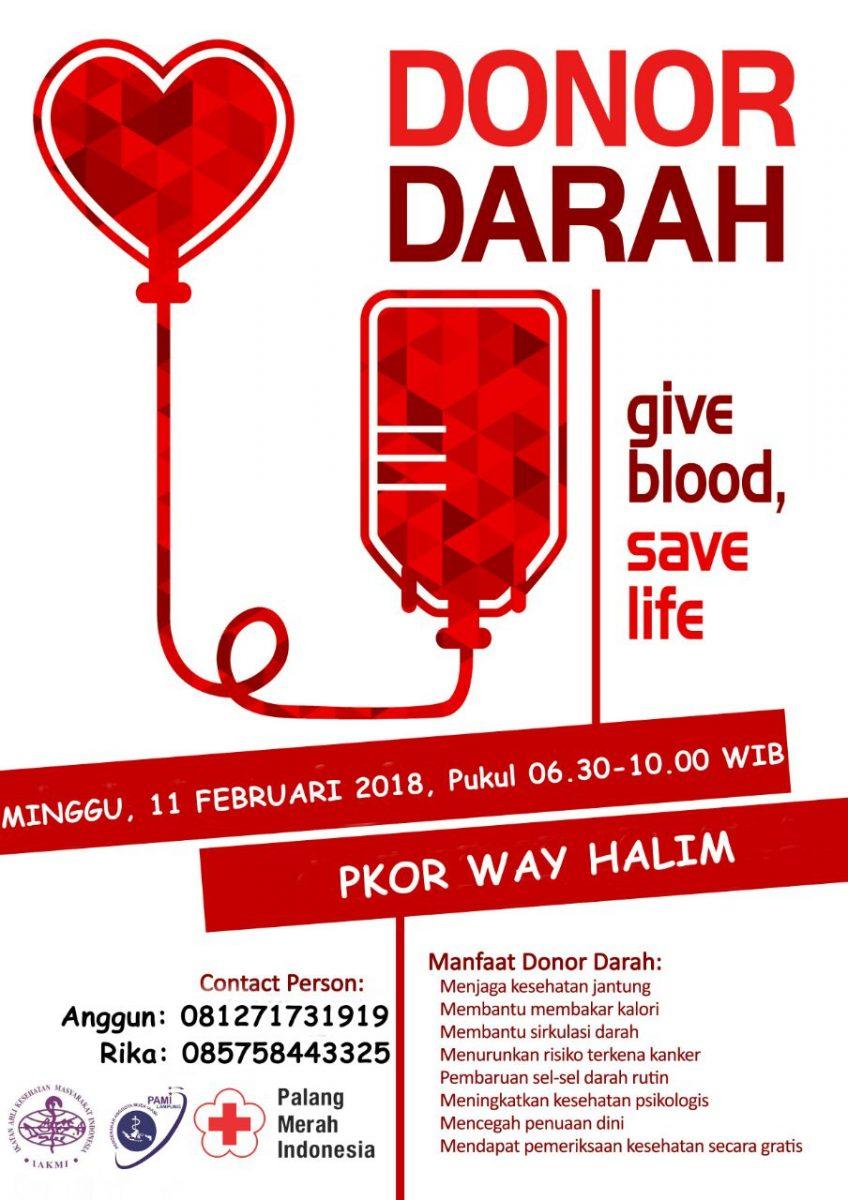 PAMI Lampung Gelar Donor Darah