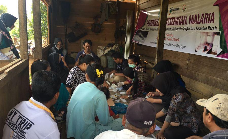 Ini Perjuangan Tim Nakes Puskesmas Teluk Kepayang Eliminasi Malaria!