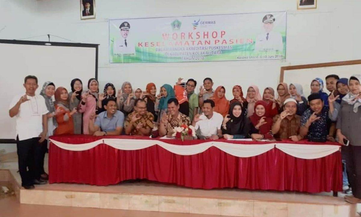 Dinkes Kolaka Utara Selenggarakan Workshop Dalam Rangka Penilaian Akreditasi Puskesmas 2018