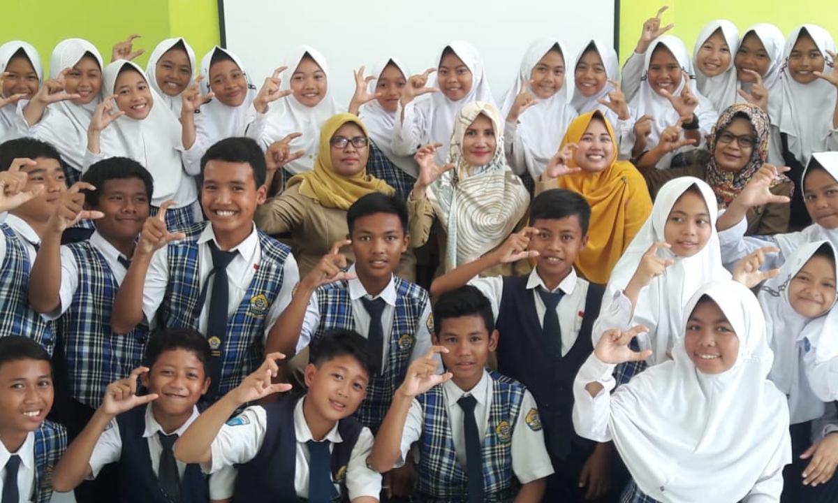 Puskesmas Krangkeng Latih 60 Siswa Jadi Kader Kesehatan Remaja (KKR)