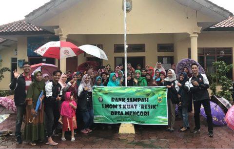 KKN, Mahasiswa UNDIP Rintis Bank Sampah di Desa Ini