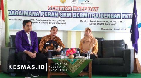 IAKMI Kuningan Gelar Seminar Peran Kesmas Bermitra Dengan FKTP