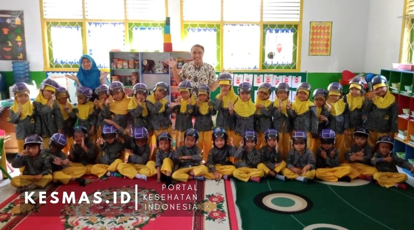 Implementasi Safety Riding for Kids di TK Aisyiyah Bustanul Athfal Indramayu
