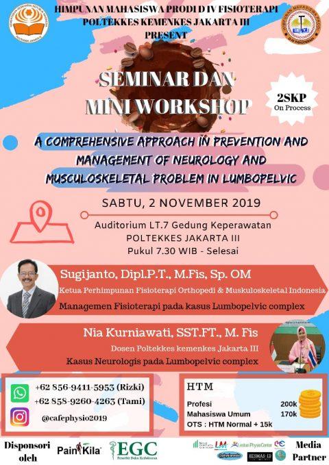 Yuk Ikutan Seminar Fisioterapi Poltekkes Kemenkes Jakarta III