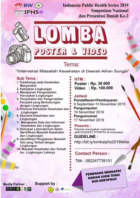 Lomba Poster Video IIKBW, Yuk Buruan Daftar!