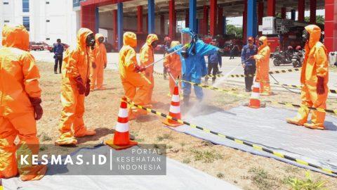 150 Petugas Damkar DKI Jakarta Berlatih Penanganan Bahan B3