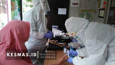 Rapid Test Massal Untuk Masyarakat Disabilitas di Surabaya