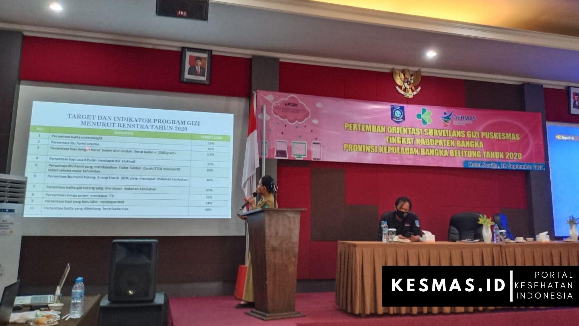 Dinkes Bangka Laksanakan Pengukuran & Publikasi Angka Stunting