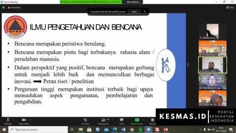 Hima Kesmas Unsil Mewujudkan Generasi Muda Indonesia Tanggap Bencana