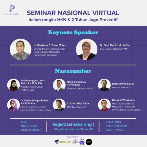 Seminar Nasional Menuju Era Baru Promosi Kesehatan 4.0