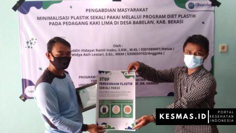 Program Diet Plastik Pada Pedagang Kaki Lima di Desa Babelan Kabupaten Bekasi